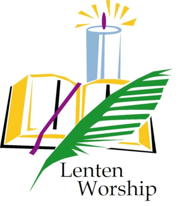 Lenten Worship Graphic
