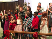 Youth Choir on Christmas Eve